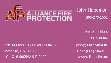 Alliance Fire Protection