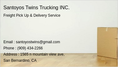 Santoyos Twins Trucking INC. 1589966576